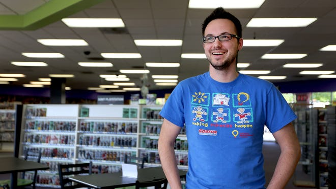 Jon Watts, 33, of Salem, is hosting a 24-hour game-a-thon as a fundraiser for Doernbecher Children's Hospital at Mr. Video in Keizer April 11-12.