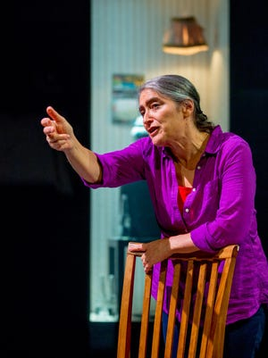 """Writer/performer Alice Eve Cohen embodies neighbors in a rundown apartment building in the Kitchen Theatre production of """"Thin Walls."""""""