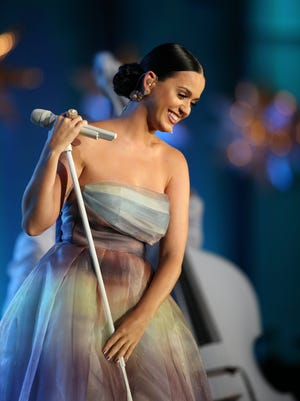Katy Perry performs at the 2015 Starkey Hearing Foundation So The World May Hear Gala at the St. Paul RiverCentre on July 26, 2015 in St. Paul, Minnesota.