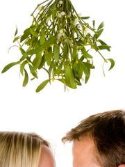 The tradition of kissing beneath the mistletoe was