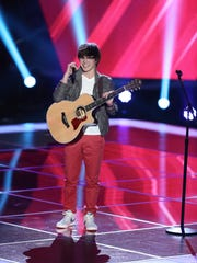 "THE VOICE -- ""Blind Auditions"" -- Pictured: Mackenzie"