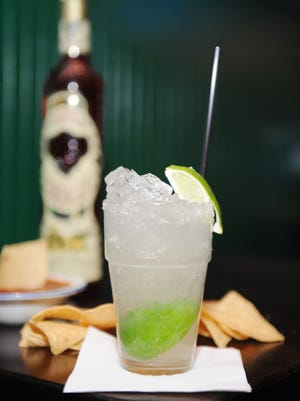 The original margarita is made with Sauza Blue Reposado tequila, agave nectar and fresh squeezed lime juice.