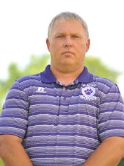 Rayne Wolves head coach Curt Ware has a career record