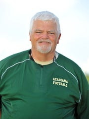 Acadiana High head coach Ted Davidson has a career