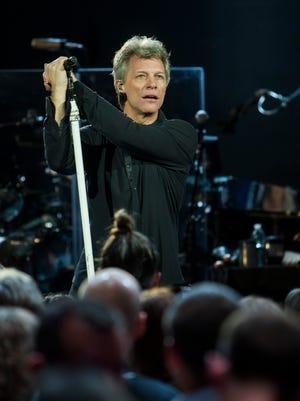 Jon Bon Jovi, the lead singer of the band that bears his name.