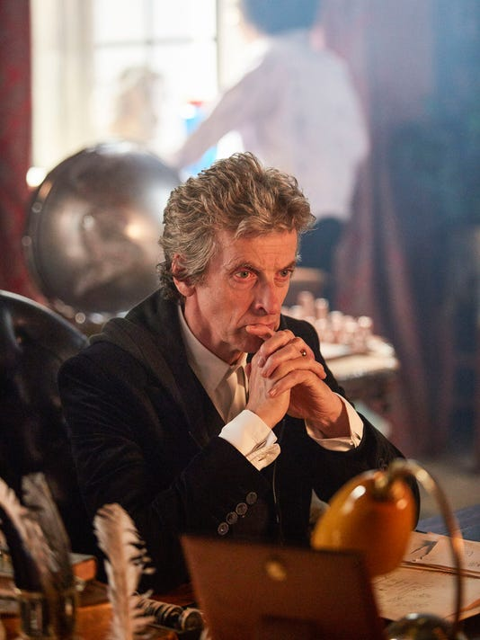 The Doctor breezes in with a new ëClassí