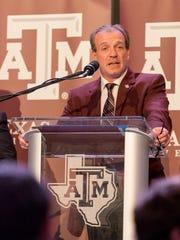 Texas A&M head coach Jimbo Fisher.