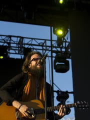 Father John Misty performs during McDowell Mountain
