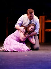 """Pasadena Opera's 2016 production of """"Susannah,"""" featuring Chelsea Basler in the title role, which she will reprise in Nashville Opera's upcoming production."""