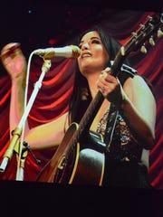 Singer-songwriter Kacey Musgraves brought her sharp