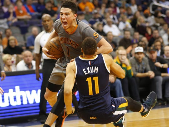When he was a rookie, Devin Booker would challenge