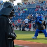 Pensacola Blue Wahoos vs Birmingham Barons + Star Wars Theme Night