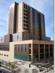 Maricopa County South Court Tower in downtown Phoenix.