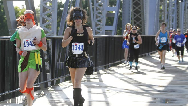Iron your cape and fly down to the Superhero Dash May 14 at Riverfront Park.