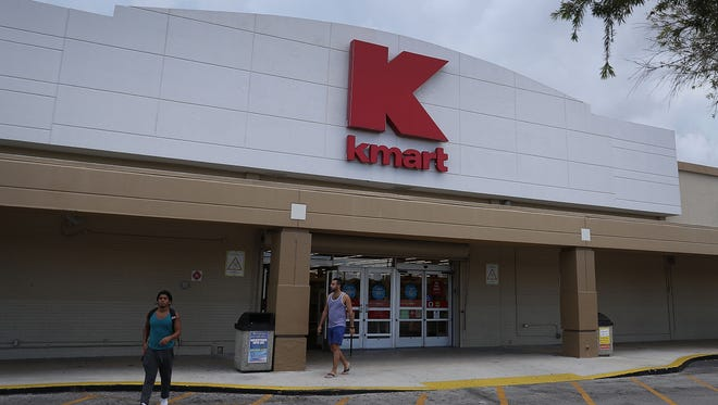 A Kmart store is seen on Sept. 22, 2016, in Miami. Kmart, now a part of Sears Holdings, is shuttering stores across the country, including one in Fort Pierce.