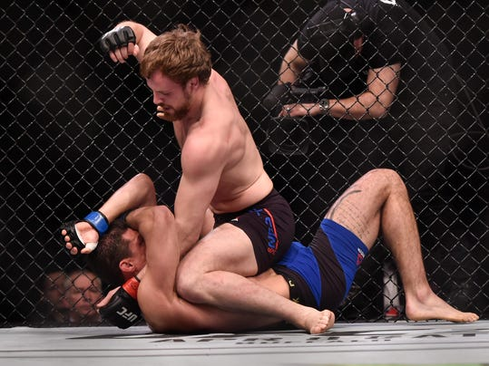 MMA: UFC Fight Night-Nelson vs Jouban