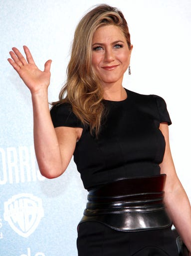 Jennifer Aniston has a specific aesthetic that works quite well for her: simple chic. She's on the road promoting her latest film 'We're the Millers' in a collection of no-frills, but impactful looks. USA TODAY's Arienne Thompson rounds them up.