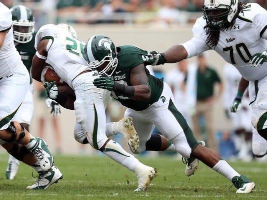 NCAA Football: South Florida at Michigan State