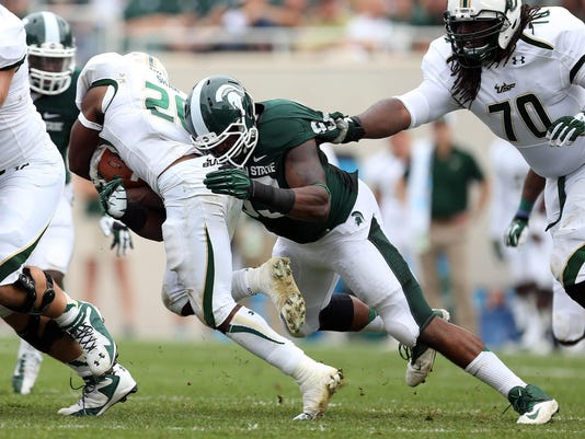 NCAA Football: South Florida at Michigan State
