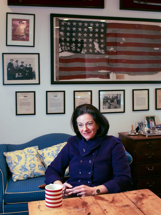 K. T. McFarland, an aide in the Nixon, Ford and Reagan administrations, at home on Park Avenue in Manhattan in 2006.