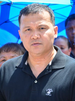 "Roy T. Quintanilla claims he was sexually abused by Archbishop Anthony Apuron when he was 12 years old, at a press conference in front of the Archdiocese of Agana Chancery Office in Hagåtña on May 17. Quintanilla asked for an apology from the archbishop, and encourages anyone with a similar story to step forward. ""I will not be silent anymore,"" added Quintanilla."