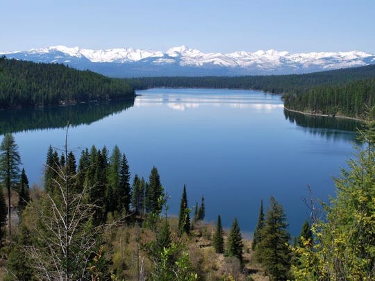 Hike along Holland Lake and have beautiful views of the Swan Mountains.