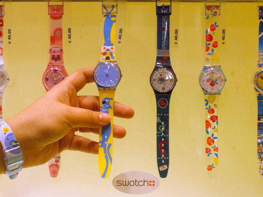 Swatch almost single-handedly revived interest in both Swiss mechanical watches and watch collecting when it launched its whimsical line in the early 1980s.