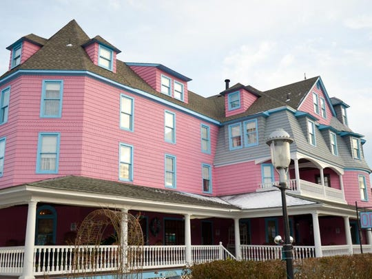 The newly remodeled Grenville Hotel and Restaurant