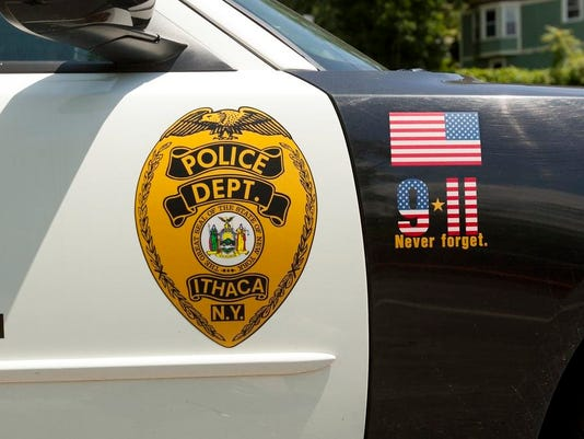ITH Ithaca Police Department car
