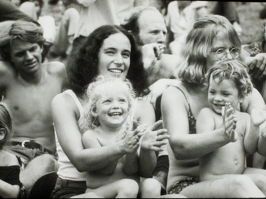 The Woodstock Music and Art Fair took place nearly a month after the U.S. sent a man to the moon in 1969.