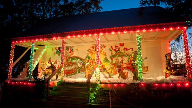 The village comes to life during Noel Acadien au Village,illuminated with more than half a million lights.