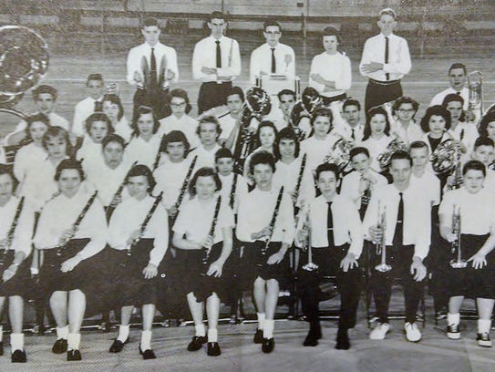 HCHS Band 1959, two years after they were founded.