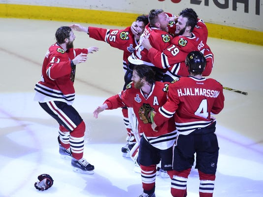 NHL: Stanley Cup Final-Tampa Bay Lightning at Chicago Blackhawks