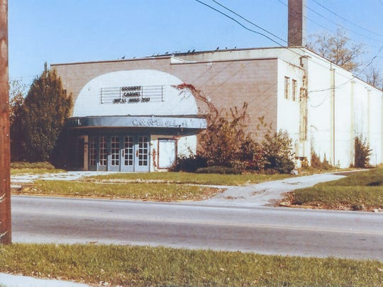 The Carmel Theater stood at 21 S. Rangeline Road.