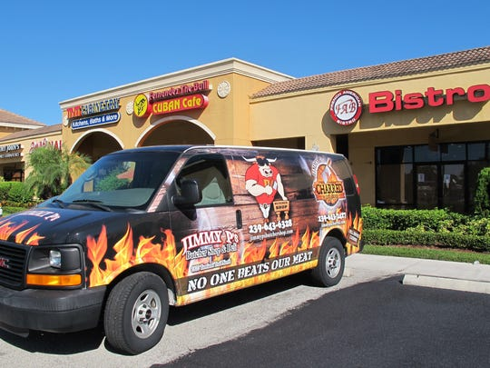 Jimmy P's Burgers & More soon will replace French American Bistro, which closed Sept. 30 after operating nearly six years in Piper's Crossing retail center on Immokalee Road in North Naples.