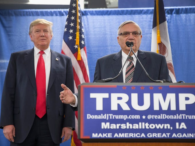 Donald Trump and Joe Arpaio