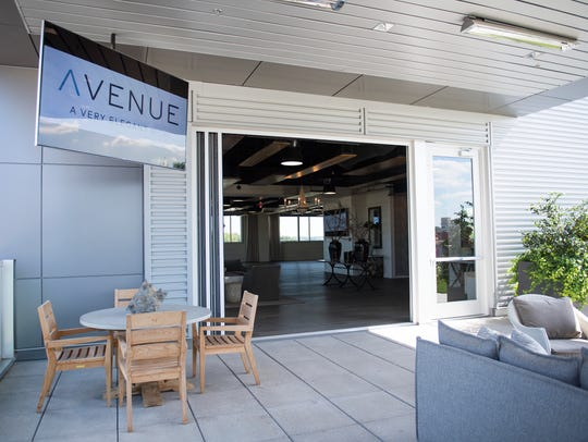 Avenue, a new rooftop garden and event space in downtown