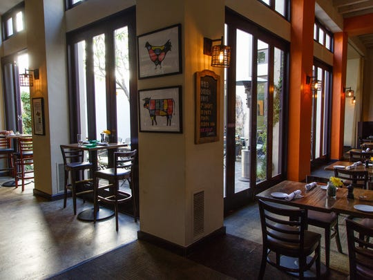 Catalan's in Rancho Mirage offers interior and courtyard dining.