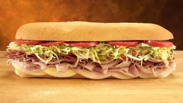 Fresh Sliced Cold Sub Combos. All cold subs are made Mike's way with freshly sliced onions, lettuce, tomato, the juice (red wine vinegar and blended olive oil), and spices (oregano and salt).