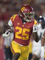 Southern California Trojans running back Ronald Jones