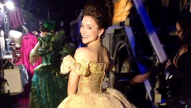 Alessa Neeck, a 2004 Fairport HIgh School graduate, performs in the remake of Cinderella on Broadway.