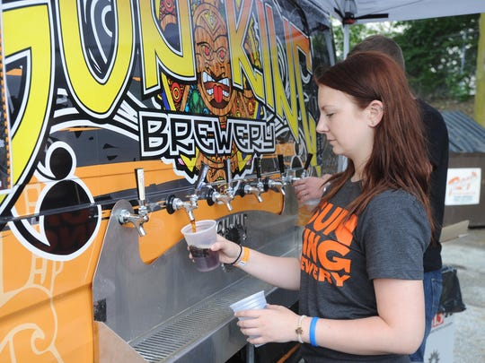 Sun King Brewery celebrated its fourth birthday with a party last summer at the brewery on College Avenue. Festivities included the tapping of Sun King's most anticipated seasonal beer, Grapefruit Jungle, accompanied by some of the area's best food trucks and live music.