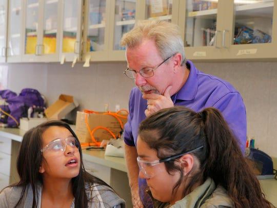 Bolsa Knolls Middle School STEM teacher Stanley Wyman