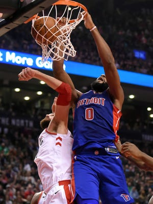 Pistons center Andre Drummond, an All-Star in 2016, is having his best NBA season thus far.