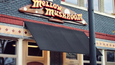 Mellow Mushroom hosts Groovy Tuesday Comedy nights every Tuesday in Downtown Anderson.