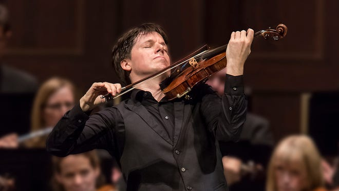 Joshua Bell, one of today's most celebrated violinists, returns to Appleton for a Wednesday performance with the Fox Valley Symphony Orchestra.