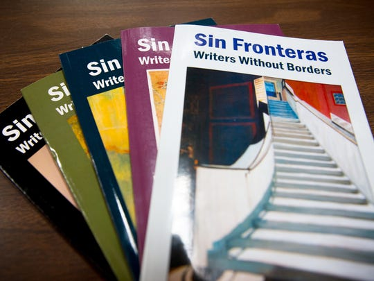 The Sin Fronteras/Writers Without Borders journals have been published on a yearly basis for almost 20 years.