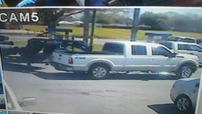 Scott police are searching for a vehicle involved in a hit-and-run Friday.