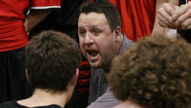 Seen in this 2007 file photo, Hilton head coach Troy Prince coached the Cadets for 13 season.