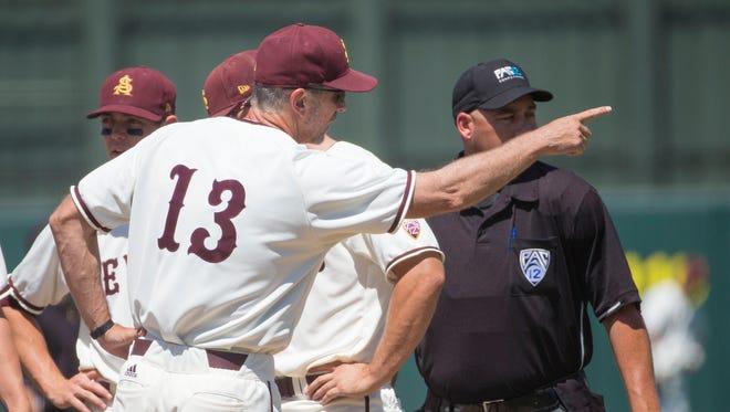 ASU baseball head coach Tracy Smith.